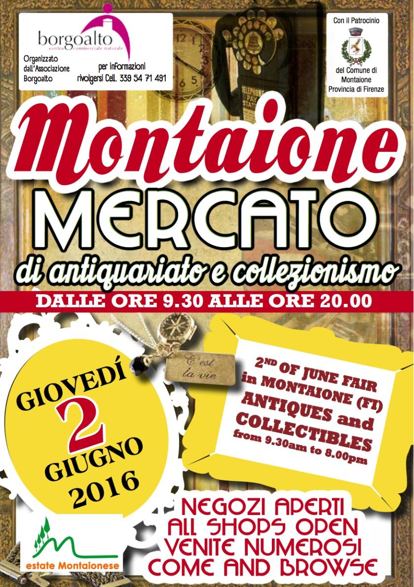 Mercato antiquariato & collezionismo 2 giugno 2016