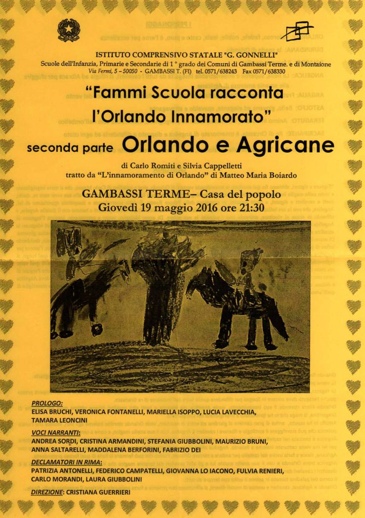 Orlando e Agricane