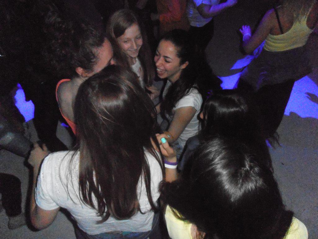 ..in discoteca...