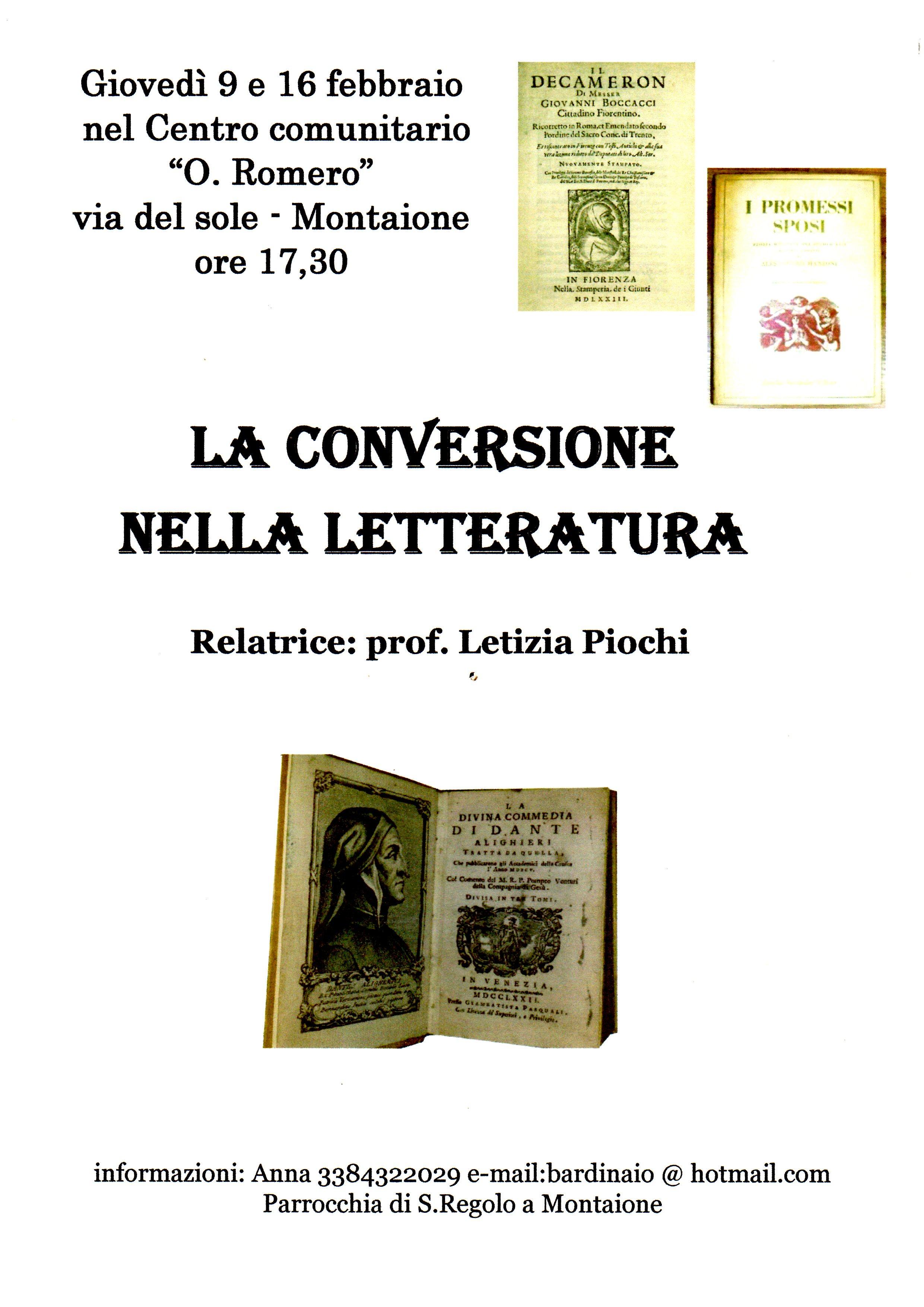 la conversione nella letteratura