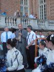 Il Sindaco di Montaione con Fabio Martini e Alberto Buono