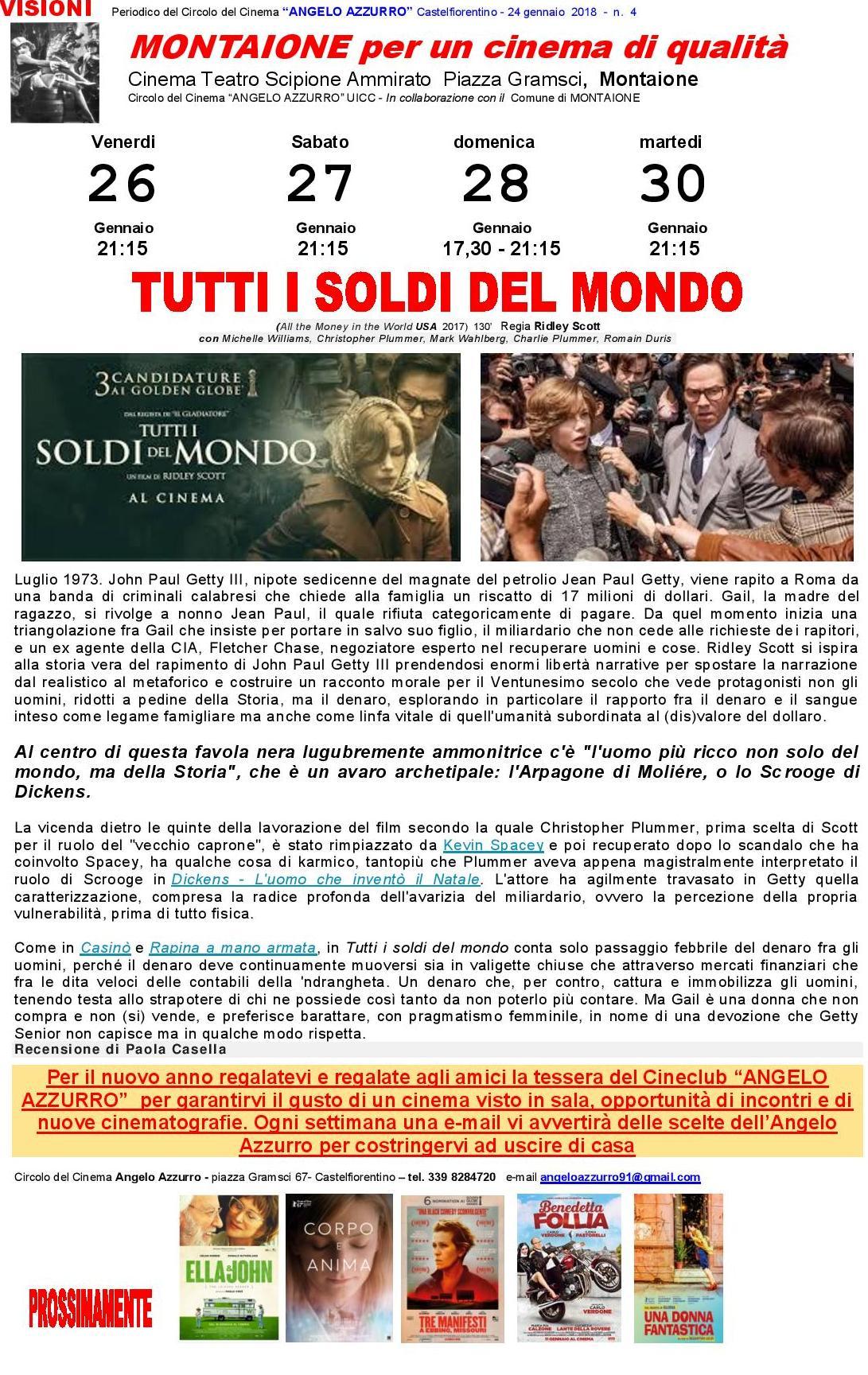 TUTTI I SOLDI DEL MONDO -1-
