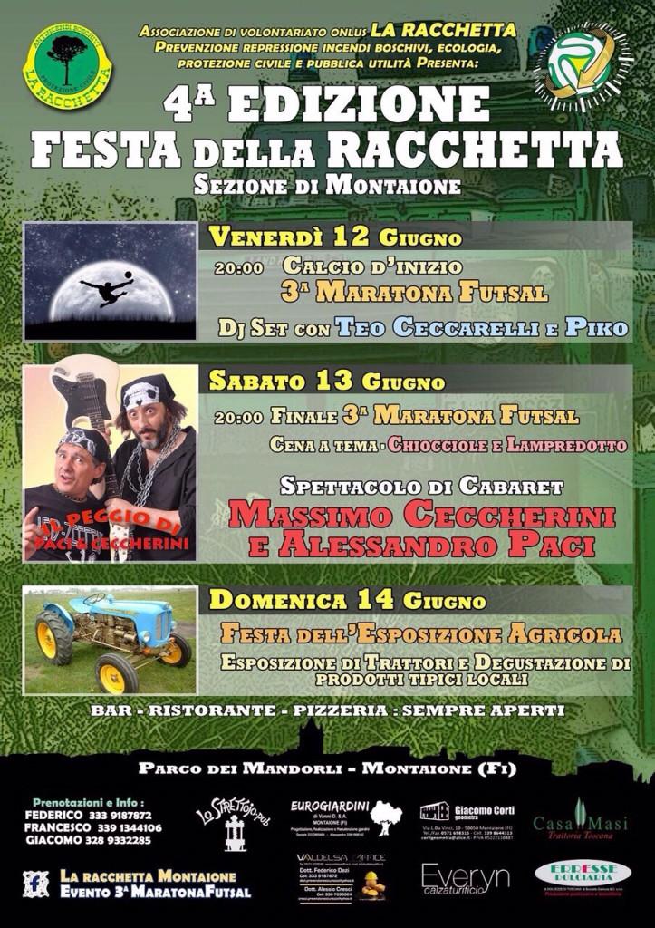 Evento Racchetta Montaione