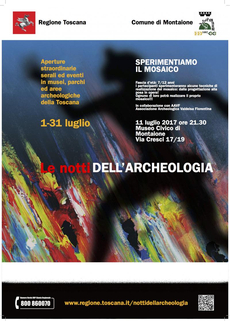 Notti Archeologia_Montaione_Locandina
