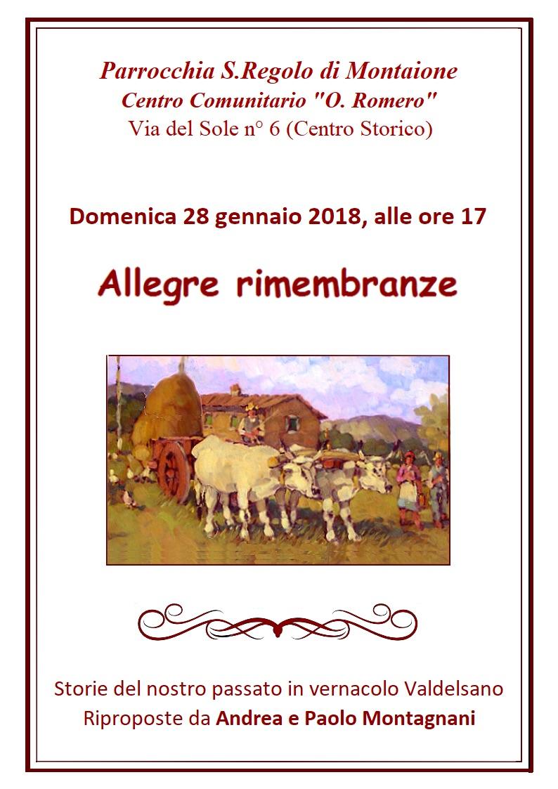ALLEGRE RIMEMBRANZE def