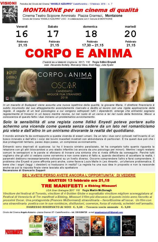 CORPO E ANIMA