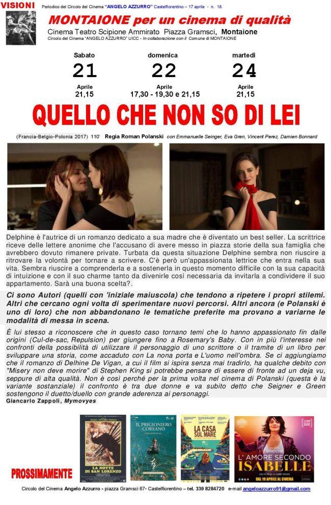 QUELLO CHE NON SO DI LEI (1)