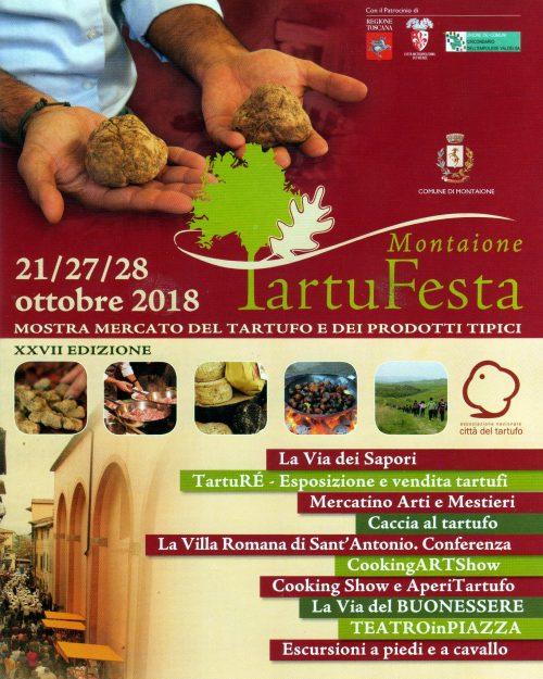Tartufesta 2018 in copertina